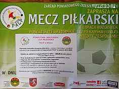 Powiatowa Amatorska Liga Piłkarska - sezon za 300 zł - zgłoszenia.