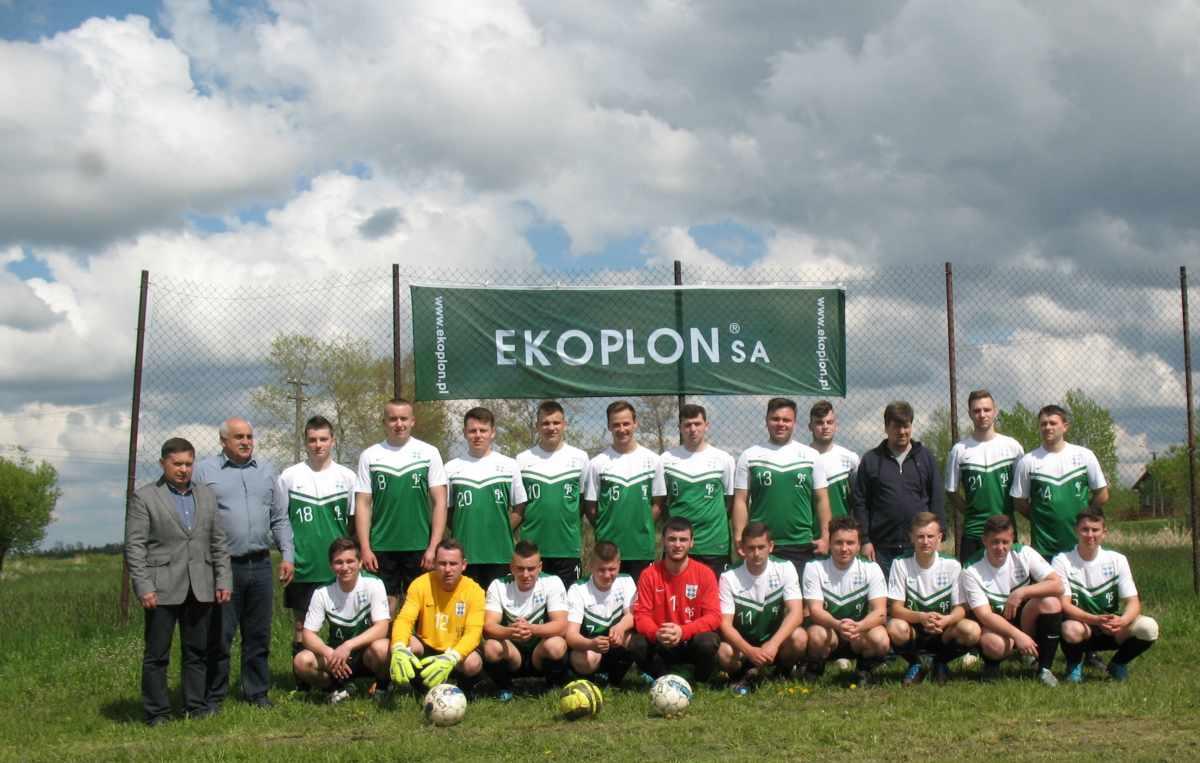 fotografia zespołu Gminny Klub Sportowy GROM Krzemienica